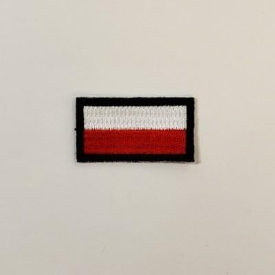 """Stripe """"Poland- flag"""" mini"""