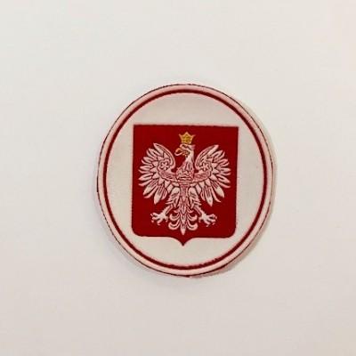 """Stripe """"Poland- oval emblem"""""""