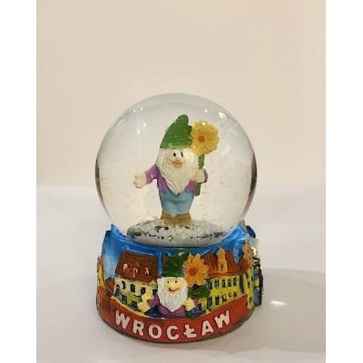 """Snow ball """"Wrocław- dwarf"""""""