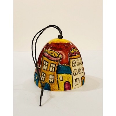 Ceramic bell - Wrocław