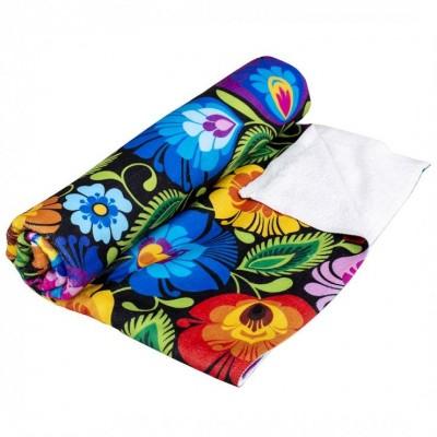 Towel - Łowicz flowers...