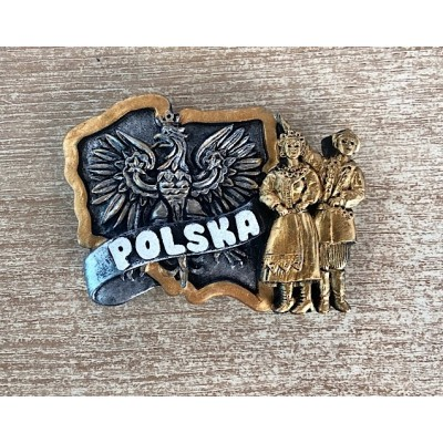 """Magnet """"Poland with couple..."""