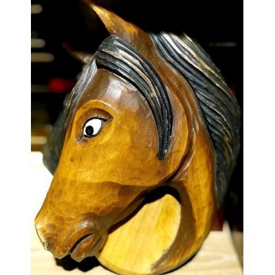 Sculpture - horse's head