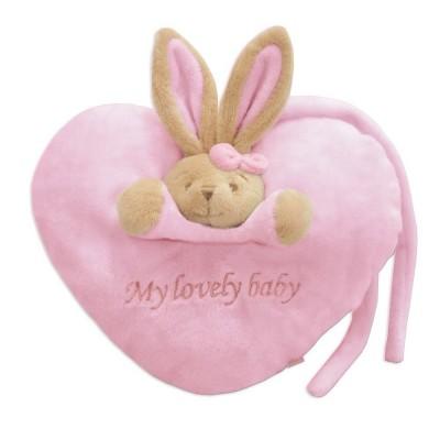 Plush heart - my lovely baby