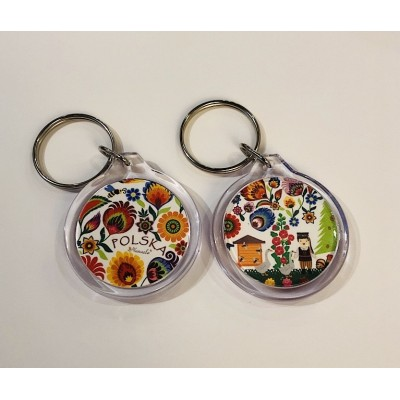 """Keyring """"a scene from the..."""