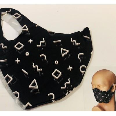 "Protective mask ""geometric..."