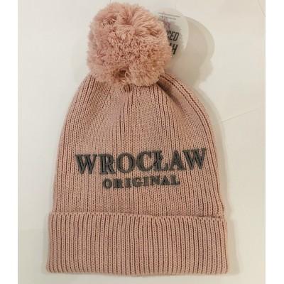 "Winter hat ""Wrocław"" pink"