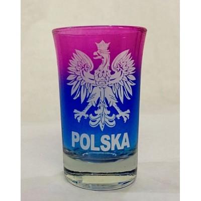 Rainbow shot glass Poland
