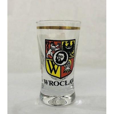 Shot glass - emblem of Wrocław
