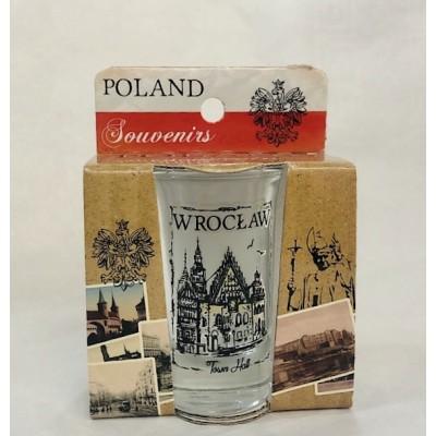 Shot glass - Wrocław Town Hall