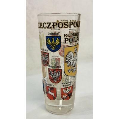High shot glass  - Poland...