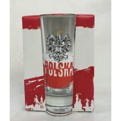 High shot glass - polish...