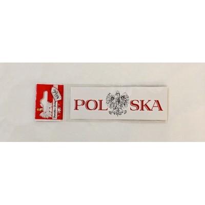 """Sticker """"writting Polska..."""