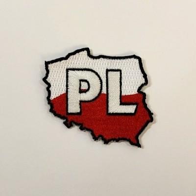 """Stripe """"Poland- contour"""""""